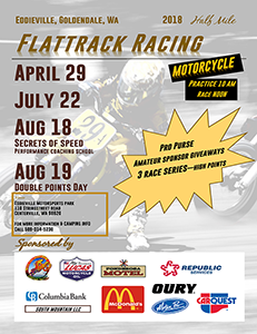 Flattrack Racing this Weekend!